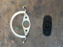 New rubber seal and stainless steel wiper gate