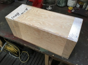 When was the last time you has something delivered in a crate? This crate was packed by Ben