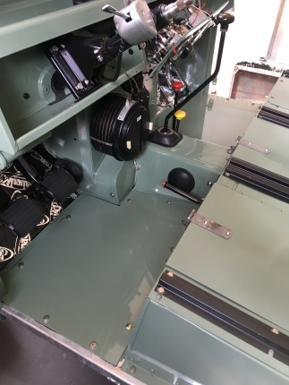 Ta Da.... floor panels bolted in a ready for some new floor mats