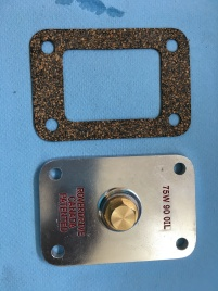 New inspection cover with convenient filler plug. Replaces the one in the next picture