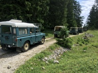 Same Land Rovers from a different angle